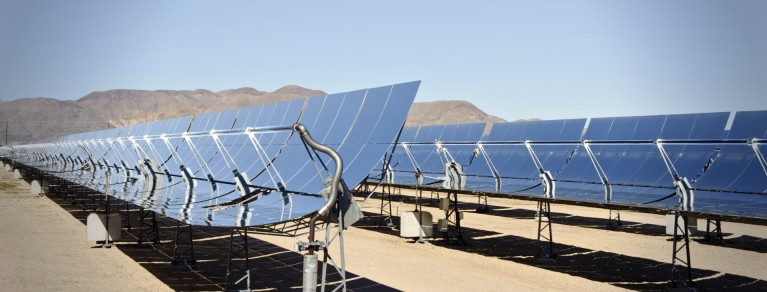 Solar Power Plant Header
